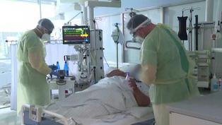 Enfermos de coronavirus cada vez más jóvenes en un hospital alemán