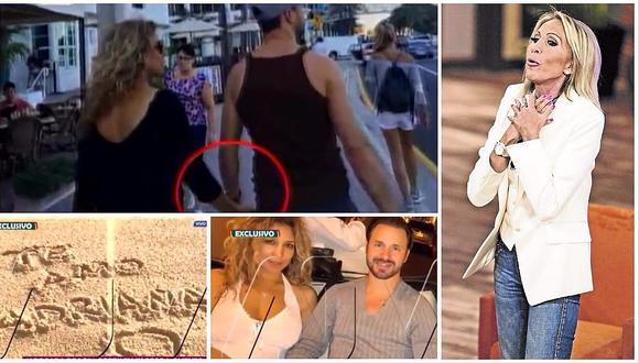 Laura Bozzo pide pruebas de la infidelidad de Cristian Zuárez y le mandan tremendas evidencias (FOTOS)