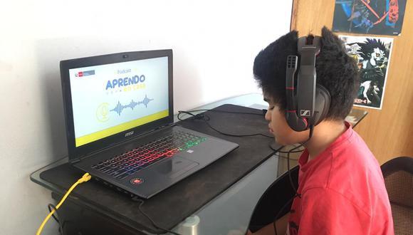 """El programa televisivo será denominado """"Aprendo en casa de Educación Básica Especial"""" para estudiantes con necesidades educativas especiales (NEE) asociadas a discapacidad severa. (Foto: Minedu)"""