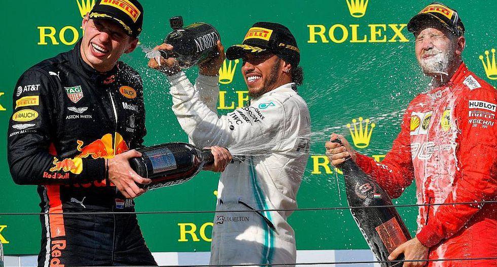 Fórmula 1: Hamilton vence en Hungría y saca ventaja en lucha por Mundial