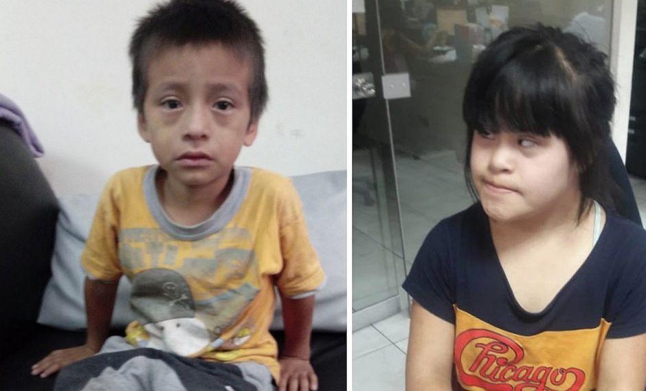 Niños son encontrados en calles de Lima y piden difusión de sus fotos para encontrar a sus familias