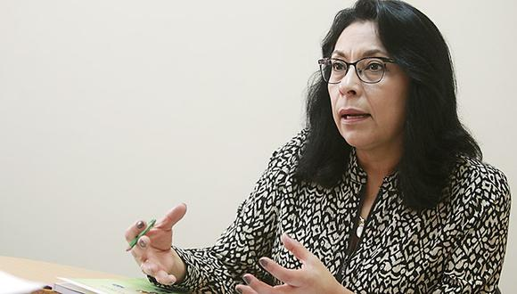 La abogada Violeta Bermudez sería la próxima presidenta del Gabinete Ministerial. (Foto: El Peruano)