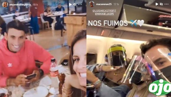 Fotos: Instagram Alejandra Baigorria | Macarena Vélez | Instarándula