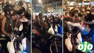 Simpatizantes de Pedro Castillo agreden a venezolano durante marcha en Lima