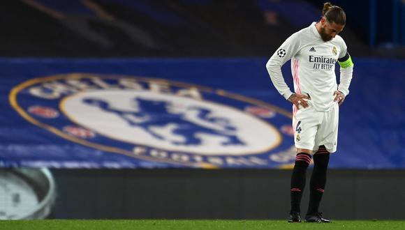 Sergio Ramos tiene contrato con el Real Madrid hasta junio de 2021. (Foto: AFP)