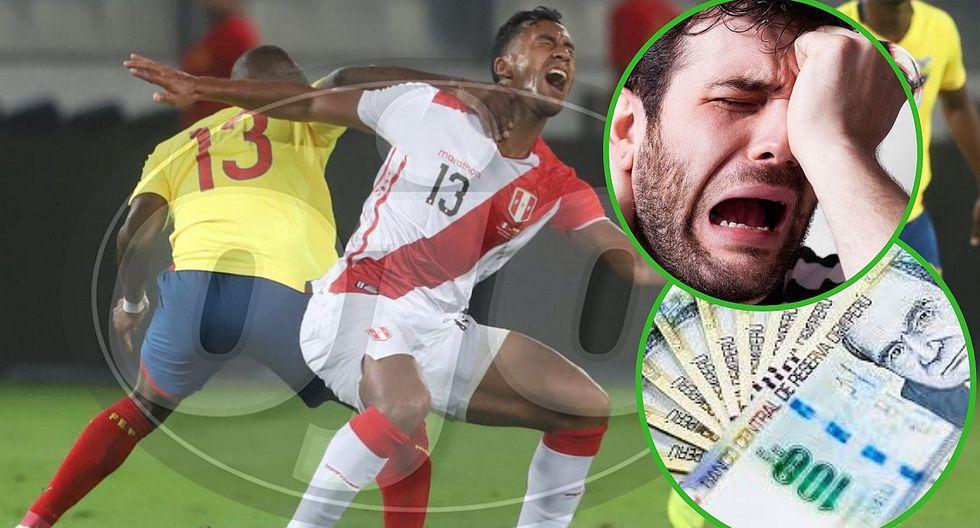 Hincha apostó 5 mil soles a que ganaba Perú y usuarios se burlan de él