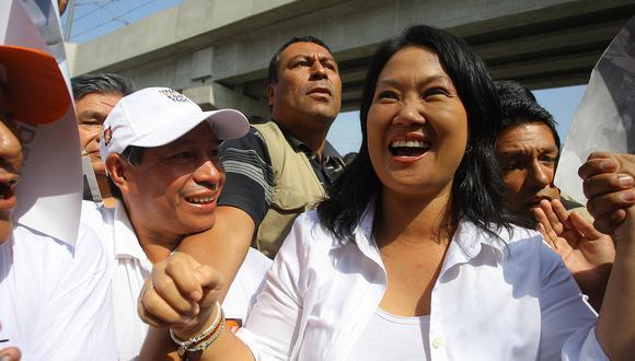 """Keiko Fujimori le dice """"Sí"""" a debate con PPK en Piura"""