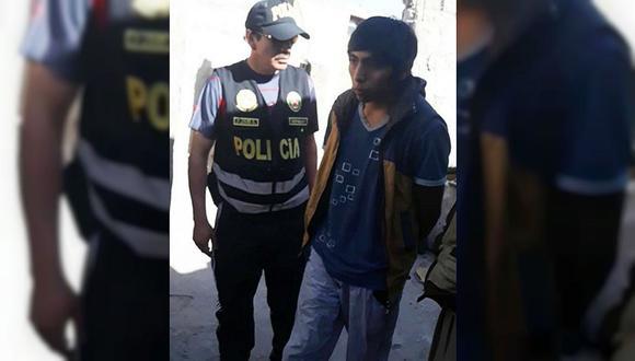 Capturan a hombre de 25 años al intentar reunirse con menor de 12 en Arequipa