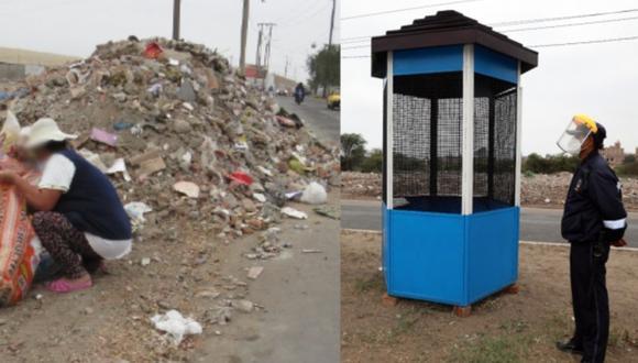 Municipio recogió 2500 toneladas de desechos sólidos durante el mes de septiembre en Trujillo (Foto: MPT)