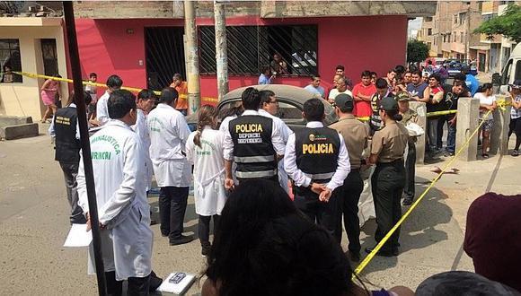 Independencia: sale en defensa de joven pero lo asesinan a balazos (FOTOS)