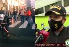 """Policía Nacional sobre ronderos con machetes en Lima: """"se procederá a la intervención respectiva"""""""