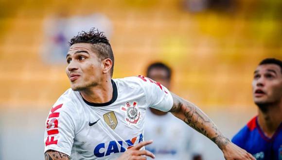 Paolo Guerrero es uno de los mejores extranjeros en la historia de Corinthians, según el club. (Foto: Agencias)